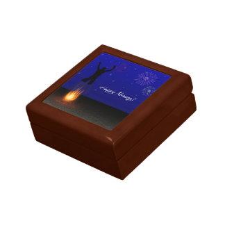 Happy Norooz Chahar-Shanbeh-Suri - Tile Gift Box