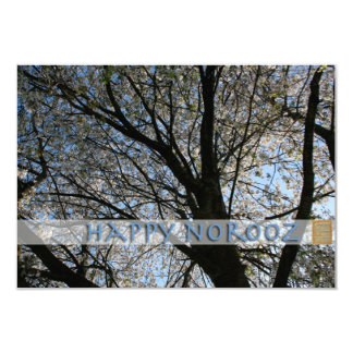 Happy Norooz Cherry Blossom Tree Invitation