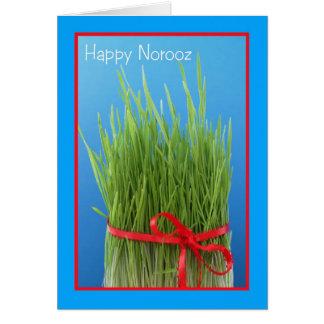 Happy Norooz Persian New Year Card -- Wheat Grass