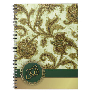 Happy Norooz. Persian New Year Gift Notebook