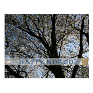 Happy Norooz - with Cherry Tree - Postcards