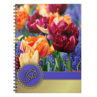 Happy Nowruz. Persian New Year Gift Notebooks