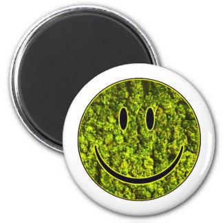 HAPPY NUG FACE 2 INCH ROUND MAGNET