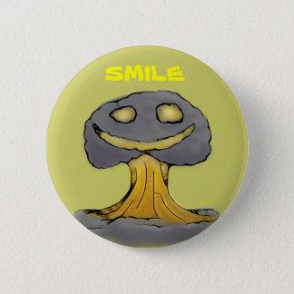 Happy Nuke Pinback Button