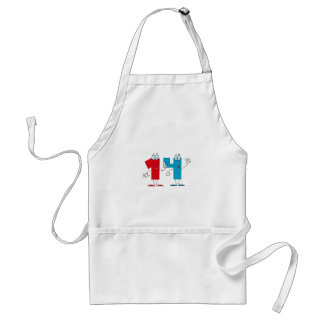 Happy Number 14 Adult Apron