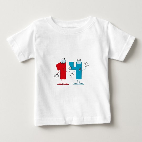 Happy Number 14 Baby T-Shirt