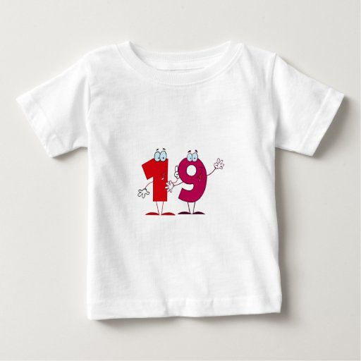 Happy Number 19 Tee Shirts