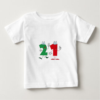 Happy Number 21 T Shirt