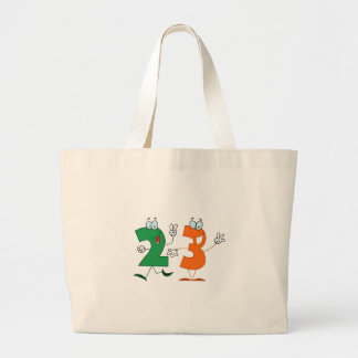 Happy Number 23 Canvas Bag