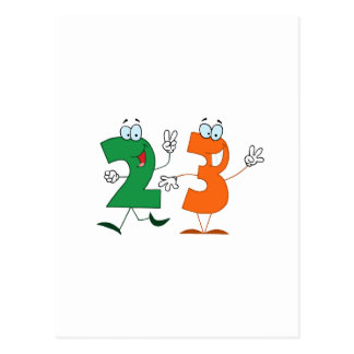 Happy Number 23 Postcard