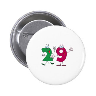 Happy Number 29 Button