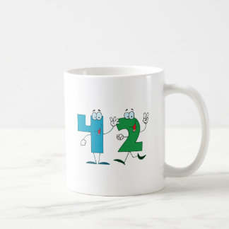 Happy Number 42 Coffee Mug