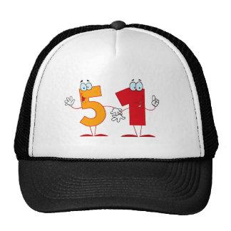 Happy Number 51 Trucker Hat