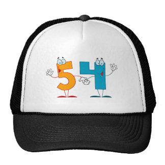 Happy Number 54 Trucker Hat