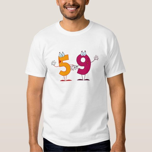 Happy Number 59 T-Shirt