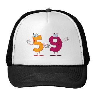 Happy Number 59 Trucker Hat