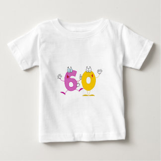 Happy Number 60 Baby T-Shirt