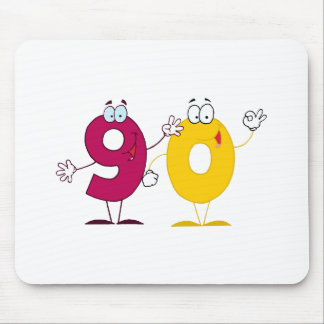 Happy Number 90 Mouse Pad