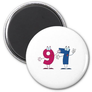 Happy Number 97 Magnets