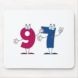 Happy Number 97 Mouse Pad