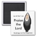 Happy nun magnets