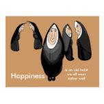 happy nunsense post cards