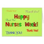 Happy Nurse Week Greeting Card