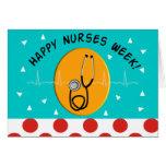 Happy Nurse Week Greeting Card 2