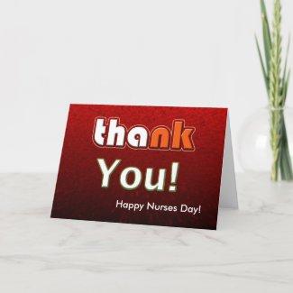 Happy Nurses Day Customizable Card