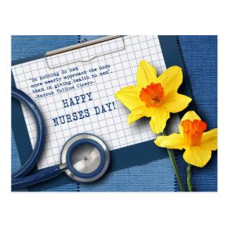 Happy Nurses Day. Customizable Postcards