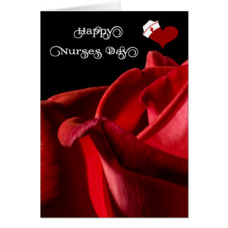 Happy Nurses Day - General - Red Rose Card