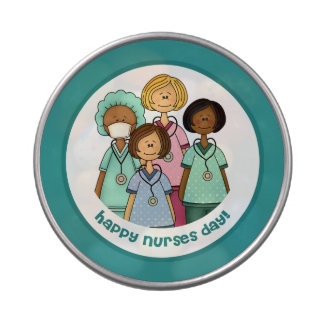 Happy Nurses Day Gift Candy Tins