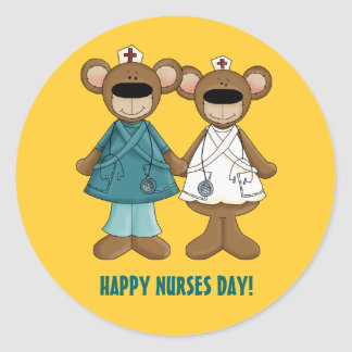 Happy Nurses Day Gift Stickers
