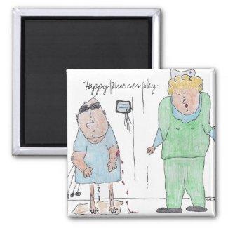 Happy Nurses Day Magnet