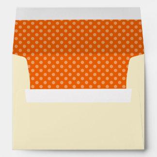 Happy Nurses Day. Polka Dot Pattern Envelopes