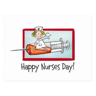 Happy Nurses Day Postcard