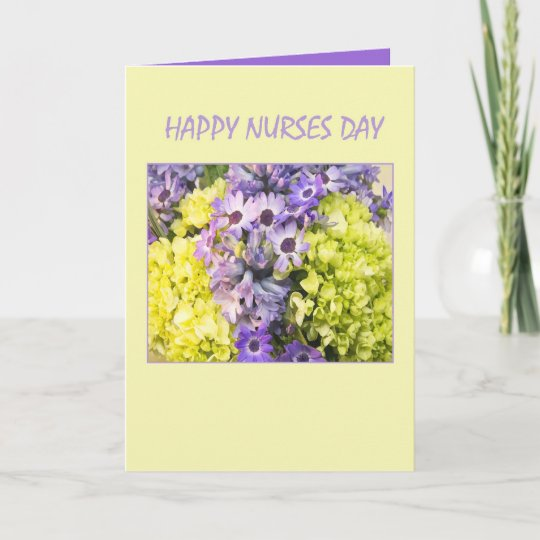 Happy nurses day spring flowers greeting cards zazzle happy nurses day spring flowers greeting cards m4hsunfo