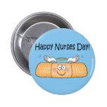 Happy Nurses Nurse Nurse's Day Whimsical Bandage Pins