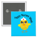 Happy Nurses Week 2 Inch Square Button