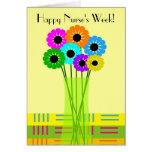 Happy Nurses Week Card Floral