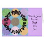 Happy Nurses Week Card Greeting Card