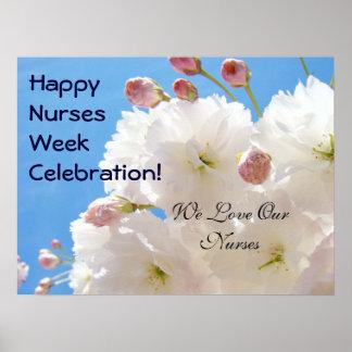 Happy Nurse's Week Celebration posters Love Nurses