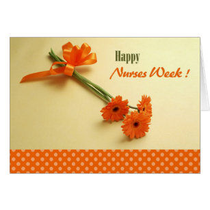 Nurses week cards greeting photo cards zazzle happy nurses week colorful daisies greeting cards m4hsunfo Image collections