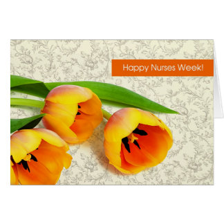 Happy Nurses Week. Customizable Greeting Card