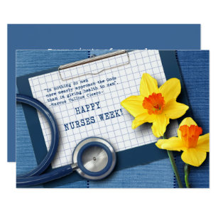 Nurses week invitations announcements zazzle happy nurses week customizable greeting cards m4hsunfo Image collections