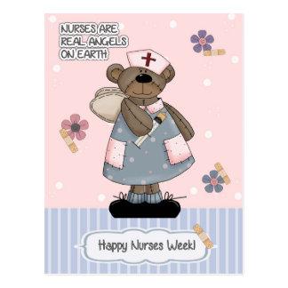 Happy Nurses Week. Customizable Postcards