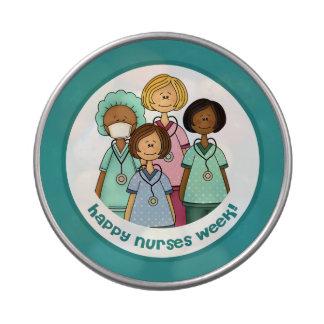 Happy Nurses Week Gift Candy Tins