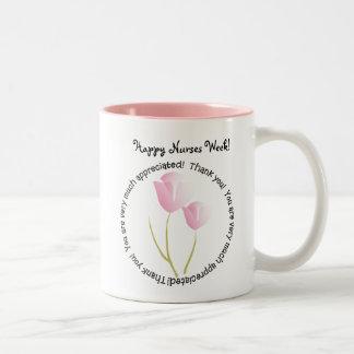 Happy Nurses Week Gifts Two-Tone Coffee Mug