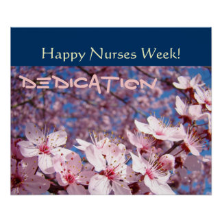 Happy Nurses Week posters Dedication Nursing