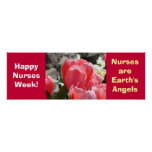 Happy Nurses Week! posters Personalize Angels